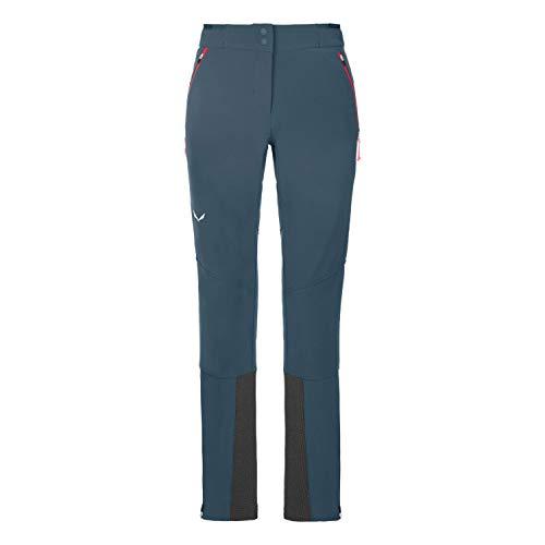 Salewa LAGORAI DST W PNT, Pantaloni da sci Alpinismo, Donna, 44/38, Ombre Blue