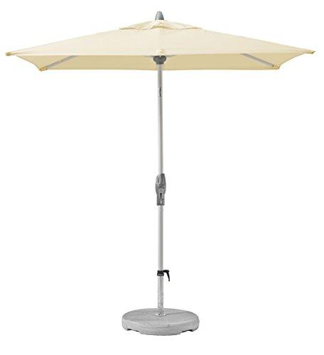 Suncomfort by Glatz Shell-Turn, ecru, 250x200 cm rechteckig, Gestell Aluminium, Bespannung Polyester, 6 kg