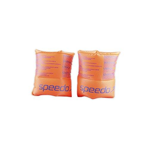 Speedo Roll Up Arm Bands Accessoires, Orange, Einheitsgröße
