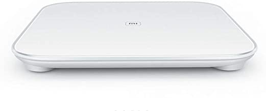 Xiaomi Mi Smart Body Weighing Scale Bluetooth 4.0 Led Display For Android Ios - White, Free Size