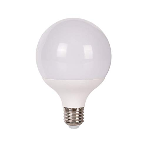 Jandei - Bombilla LED Globo 270º, G95 Rosca E27, 15W (equivalente a 100W) Luz Blanca Fría 6000K, 1400 Lúmenes