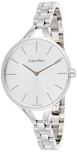 Calvin Klein Reloj Analogico para Mujer de Cuarzo con Correa en Acero Inoxidable K7E23146