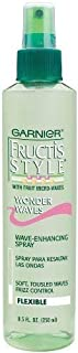 Garnier Fructis Style Wonder Waves Wave-Enhancing Spray - Flexible - 8.5 oz (Pack of 2)