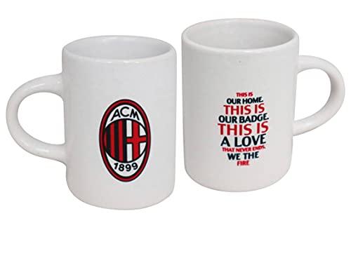 official product Milan ROSSONERI Set 2 tazzine in Ceramica caffè Colazione in Ceramica This is Our Home