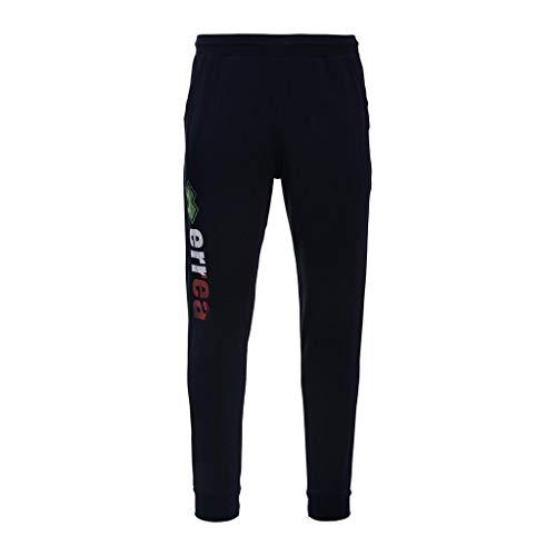 Erreà Pantaloni da Ginnastica Uomo Republic SS18 Essential Cuffed Trousers (S, Blu Italy)