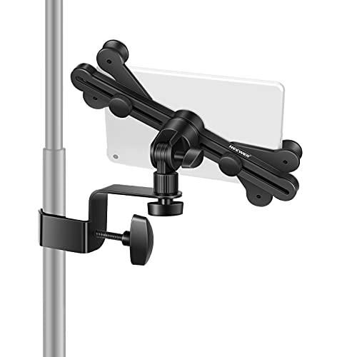 """Neewer - Supporto per tablet da 6"""" a 11"""", per asta del microfono per eventi musicali, regolabile, girevole a 360°, per Apple iPad Pro, Air, Mini, Google Nexus, Samsung Galaxy"""