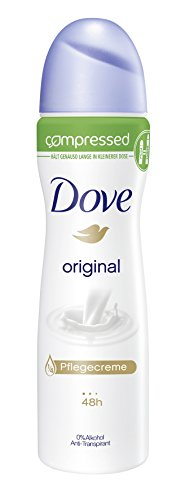 Dove Original Compressed, deospray 3er Pack (3 x 75 ml)