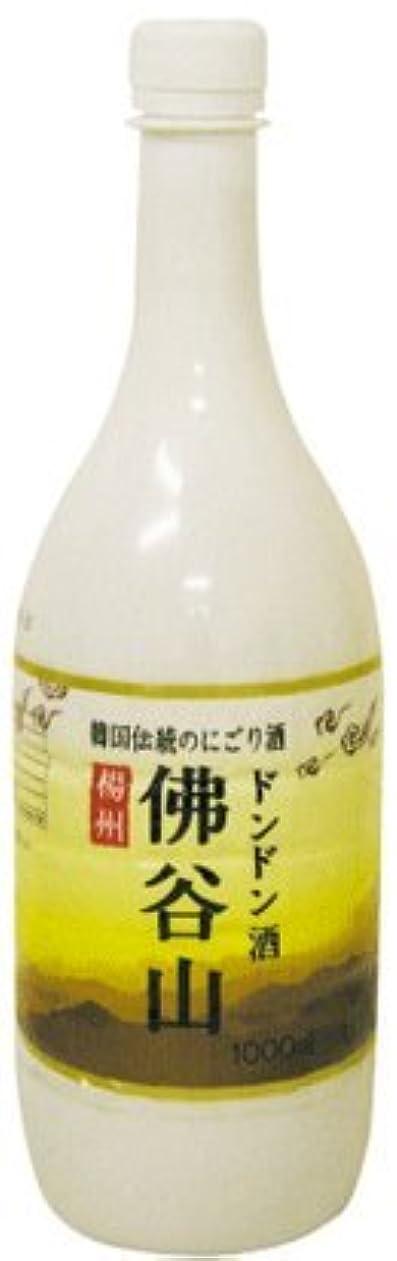 つらいとげのある底韓国 お酒 楊州 佛谷山マッコリ(ドンドン酒)