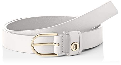Tommy Hilfiger Damen Classic Belt 2.5 , White, 100