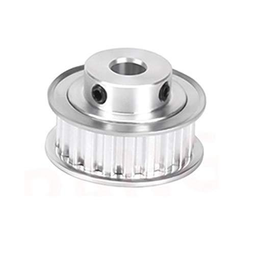 Xianglaa-Timing Pulley Alluminio 10mm Larghezza 20 Denti Denti XL PULLEGGIO di TIMINAZIONE XL, PULLY SYNCRONOUS Ruote ARCHEGGIO Aree = 8mm / 10mm / 12mm Produzione di precisione