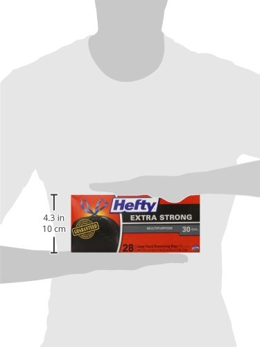 Hefty Strong Large Trash Bags, 30 Gal, 28 Count 5