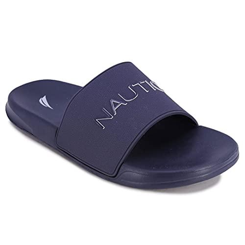 Nautica Men's Athletic Slide Comfort Sandal-Dolan-Navy-7
