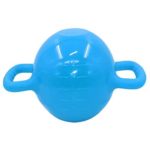 Pesas rusas rellenas de agua, peso ajustable, pesas rusas para yoga, pesas para gimnasio, pilates, no necesita base