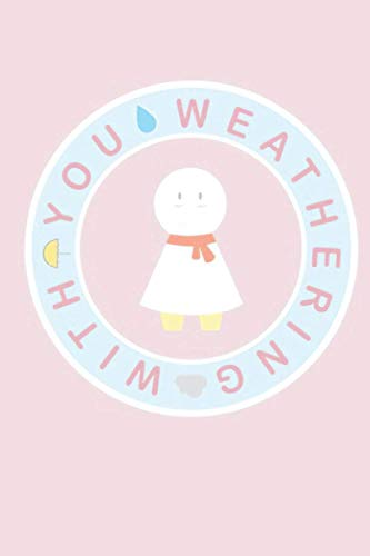 Anime Pop Socket Weathering With You Nagi Weather Doll Notebook: (110 Pages, Lined, 6 x 9)