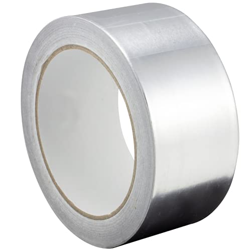 Gocableties - Nastro isolante adesivo in alluminio, 10 m x 48 mm
