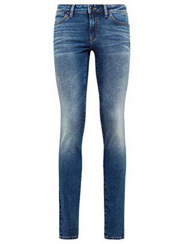 Mavi Damen LINDY Skinny Jeans, Blau (Indýgo Brushed Glam 29973), W27/L32