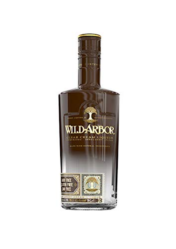 Wild-Arbor 70cl 19.8% ABV | A Clear Cream Liqueur: Plant based, Free From Gluten, Dairy, Artificial Ingredients and GMOs