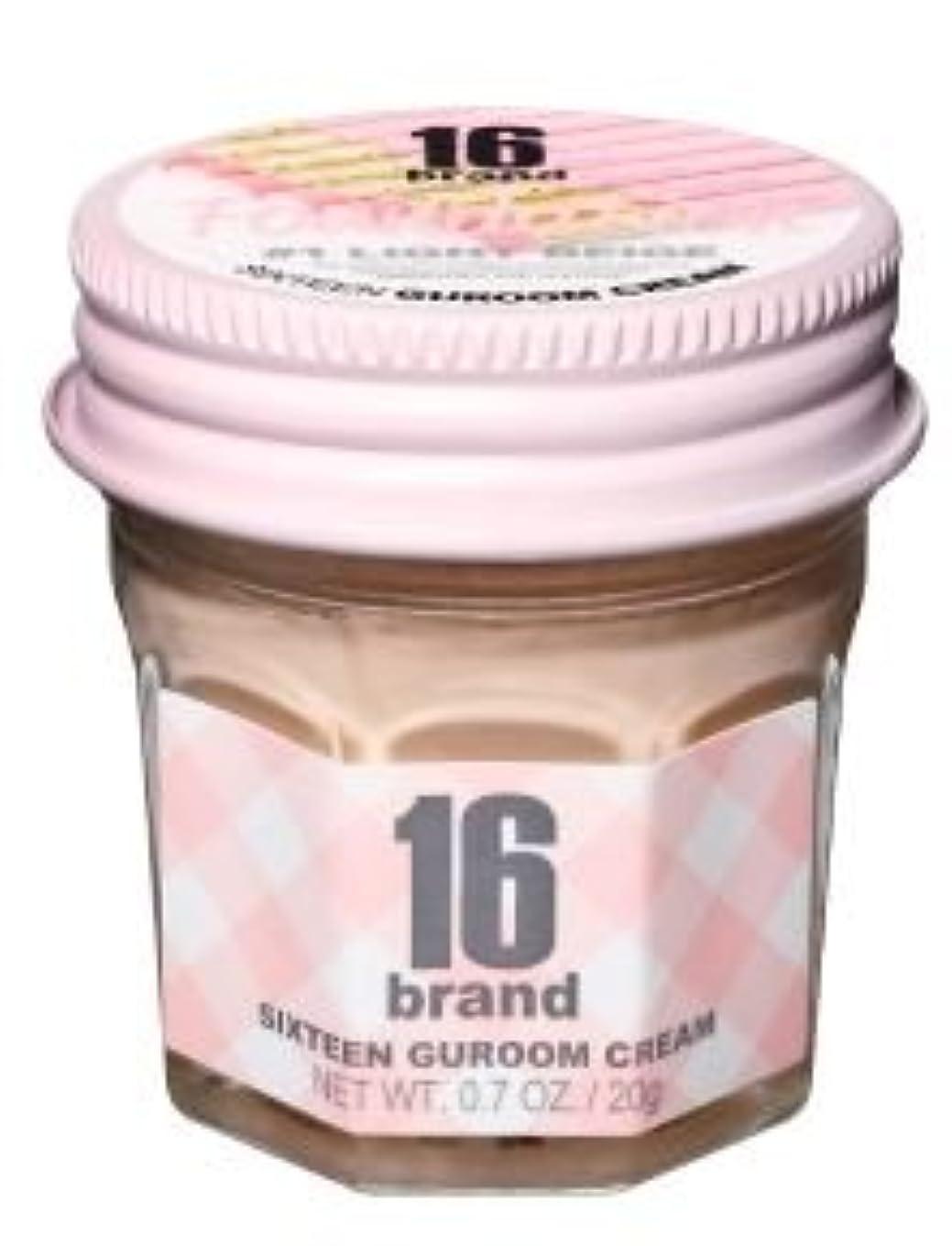逆説パラメータ優れました16brand Sixteen Guroom Cream Foundation 20g/16ブランド シックスティーン クルム クリーム ファンデーション 20g (#1 Light Beige) [並行輸入品]