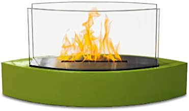 Anywhere Fireplace - Lexington Tabletop Ethanol Fireplace in Green