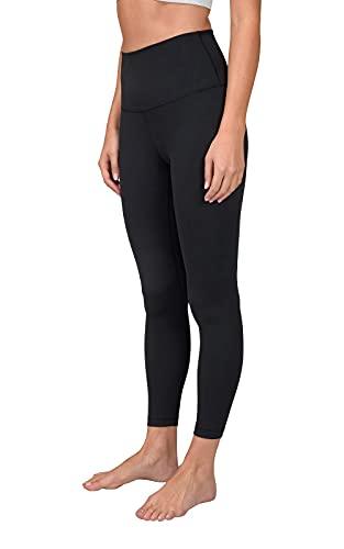 Yogalicious Lux High Waist Elastic Free Ankle Legging - Black - XS