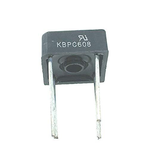 Phoncoo 10PCS LOT KBPC608 KBPC-608 6A 800V Rectifier
