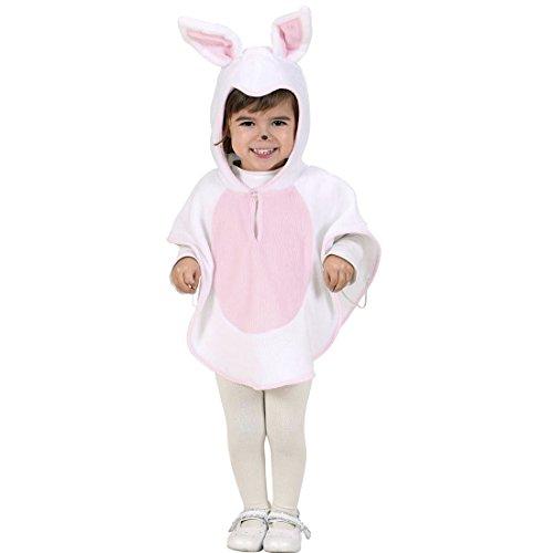Costume de lapin pour enfant déguisement de lapereau 110 cm 4-5 ans Poncho de petit lapin bunny cape à capuche déguisement pour enfant lapinou costume animalier déguisement de carnaval petit enfant