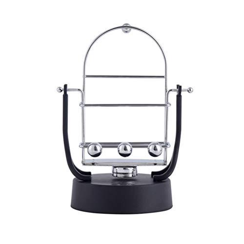 UKCOCO Phone Swing Soporte multifunción para teléfono móvil Pedómetro Step Swinger Elección batería incluida (Negro)