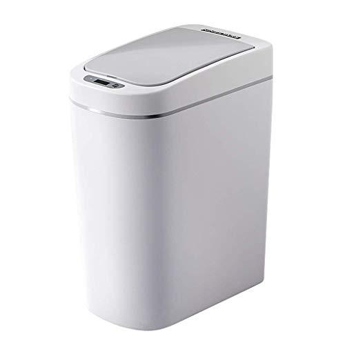 WJSXJJ Abfallbehälter - Intelligente Elektrische Induktion, Schnelle Induktion Von 0,3 Sekunden, Geeignet for Wohnzimmer (Color : Charging)