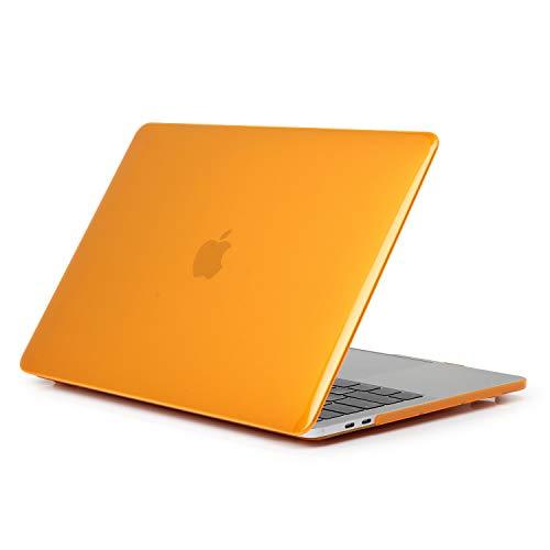 TaStone Capa rígida de plástico para MacBook 12 polegadas com tela de retina/MacBook Air 13 polegadas, Laranja, MacBook Pro 13.3 Inch