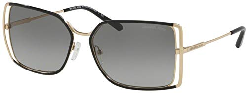 Michael Kors Gafas de sol MK1053 ISLAS de ORO 101411 gris oro de tamaño de 58 mm de gafas de sol de las mujeres