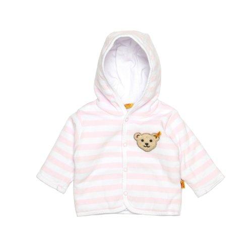Steiff Baby-Mädchen 2857 Jacke, Rosa (Barely Pink 2560), 80