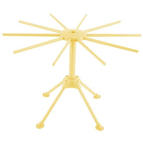 Stendino per pasta fatta in casa Spaghetti fatti in casa Stendino per pasta Stenditoio Asciugatrice Stendino pieghevole Utensili da cucina(Giallo)
