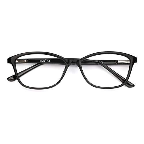 TIJN Occhiali da vista a luce blu Cateye TR90 Occhiali da vista con filtro anti raggi UV blu