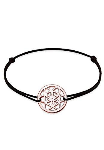 Elli Armband Damen Ornament Lebensblume Floral in 925 Sterling Silber