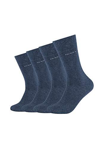 Camano Herren 3642000 Socken, Blau (Jeans 0006), (Herstellergröße:43/46) (4er Pack)