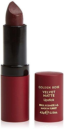 Golden Rose Velvet Matte Lippenstift, Farbe 23, 1er Pack (1 x 4,2 g)