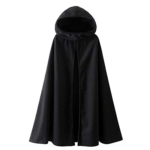 ladies hooded cape - 5