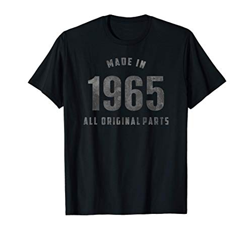 Vintage - Made in 1965, All Original Parts Camiseta