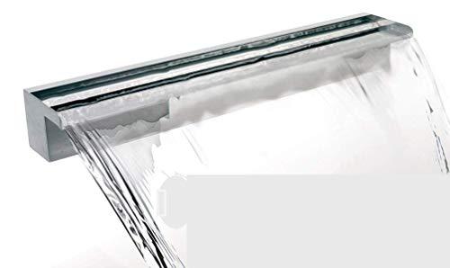 Primrose 45cm Wasserfall-Edelstahlklinge; Anschluss hinten