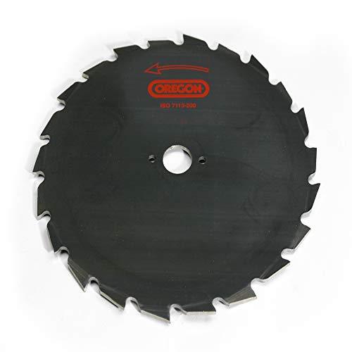 Oregon 110971 Lame de débroussailleuse à scie d'éclaircissage, 200 mm, 25,4 mm