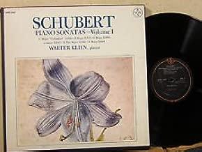 Franz Schubert: Piano Sonatas, Complete - Volume I ~ Walter Klien, Piano ~~ Vox Box SVBX 5465