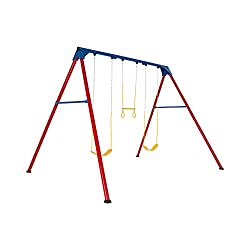 Lifetime Heavy Duty A-Frame Metal Swing Set