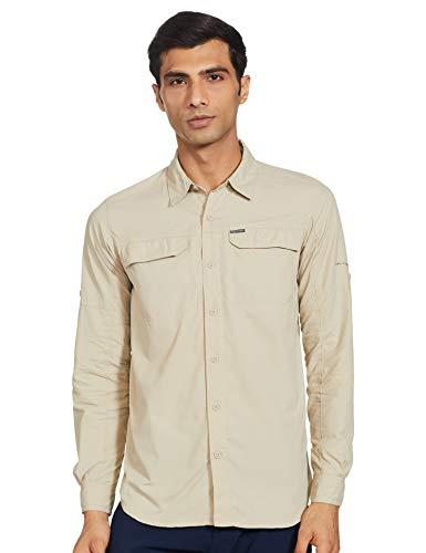 Columbia Camiseta Silver Ridge™2.0 para Hombre, Hombre, Camisa, 1839312, fósil, XL