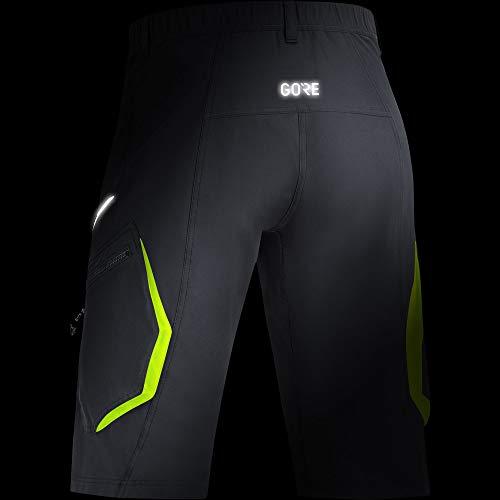 GORE Wear C3 Pantaloncini da uomo, S, Nero