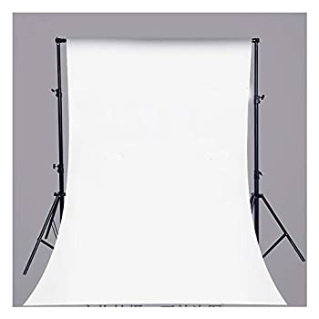 Pure White Vinyl Backdrop Collapsible Background Photo Studio Photography,Video White  3x5ft  0.9 x 1.5m  3 x 5ft