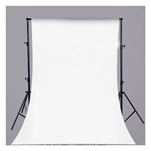 Pure White Vinyl Backdrop Collapsible Background Photo Studio Photography,Video, White (3x5ft), 0.9 x 1.5m (3 x 5ft)