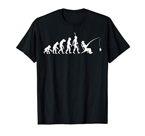 Evolution pescar pescador de caña Deportes Camiseta