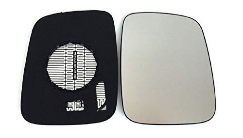 KRANZBEFESTIGUNG! Passt NICHT zum Kugelkopf! Pro!Carpentis Spiegel Spiegelglas rechts kompatibel mit T4 Transporter IV 1990-2003