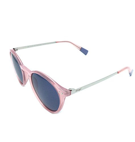 MR WONDERFUL MW 29005 567 49,gafa sol mujer,redondas,montura en rosa,lentes en gris.