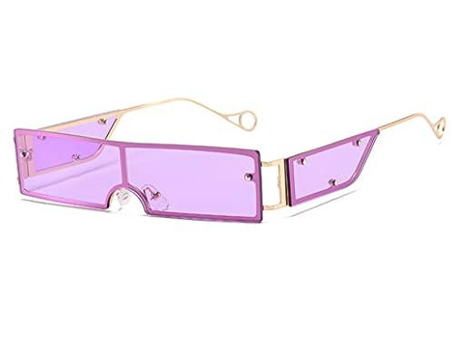 ODNJEMSD Small Box Jumpsuit Sunglasses Women Retro Sunglasses